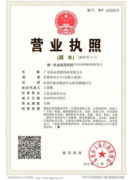 Business license