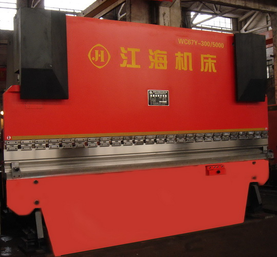 Hydraulic sheet metal bending machine WC67Y-630 / 3200